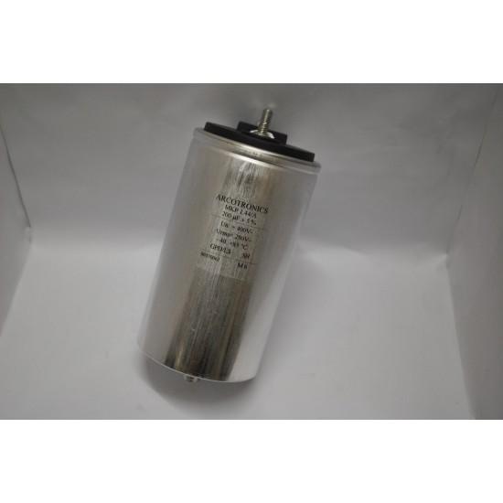 ARCOTRONICS 電容 MKP1.44/A  200UF 400V 鋁殼